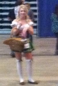 Beerfest girl