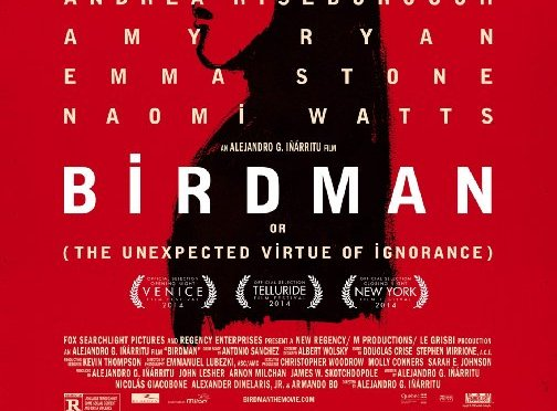 Yeah I saw that, 'Birdman' Edition